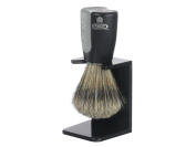 Kent's Wet Is Best Bristle Shaving Brush and Stand by Kent