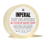 Imperial Barber 100% Natural Glycerin Face & Shave Shaving Soap Puck 180ml