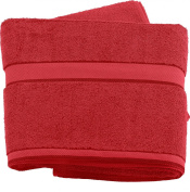 Wilson Gabor Premium Cotton Terry Towelling Bath Towel 180 x 90 CM, Red
