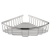 Konhard CS003 Bathroom Corner Shelf Wall Mount, Stainless Steel