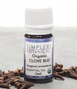 Essential Oil Clove Organic Simplers Botanicals 5 ml Liquid