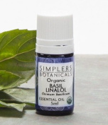 Basil Linalol Essential Oil by Simplers Botanical Company - 5 ml