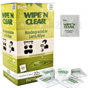 Wipe 'N Clear Biodegradable Lens Wipes, 225 Ct