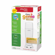 Playtex Nappy Genie Complete Antimicrobial Pail - White