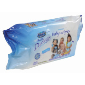 Premier Value Baby Darlings Baby Wipes, Refill Pack, Scented, 80 Ct