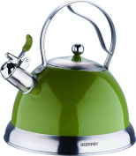 BERGNER MILANO - STOVETOP KETTLES STAINLESS STEEL OLIVE 2.6L