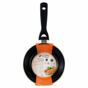 SAN IGNACIO SUNSET - FRYING PANS STEEL ENAMEL WITH BAKELITE HANDLE 18X4.0 CM