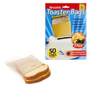 Non Stick Toaster Bags Pockets Suitable for Grilling Baking Heating Toasting