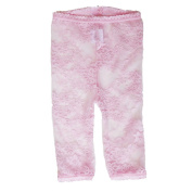 Baby Bella Maya Lacy Leggings, Pink, 3T