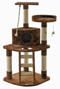Go Pet Club F49 120cm Brown Cat Tree Condo Furniture