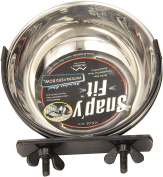 Stainless Steel Snap'y Fit Water and Feed Bowl 300ml