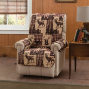 Innovative Textile Solutions 9304RECL Woodlands Recliner Or Wing Chair Protector - 200cm .