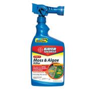 Bayer 2 In 1 Moss and Algae Killer Ready To Spray