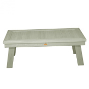 Highwood Whitewash Pocono Deep Seating Conversation Table, Whitewash