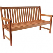 Milano 1.5m FSC Eucalyptus Wood Outdoor Bench