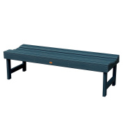 Highwood Lehigh Backless Bench, 1.5m, Nantucket Blue