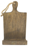 Polished Solid Wood Hanging or Table Top Tablet or Recipe Holder