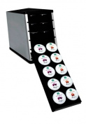 YouCopia PodStack Single Serve Coffee Pod Organiser, ABS Plastic, Silver