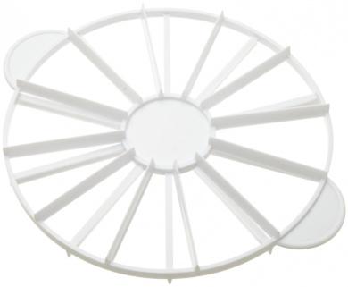 Dealglad® 10 / 12 Piece Equal Plastic Cake Pie Slicer Portion Marker Divider