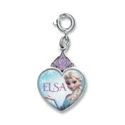 Charm It! Elsa Crown Heart Charm