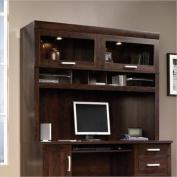 Sauder Office Port Computer Credenza Hutch, 120cm H x 150cm W x 40cm D, Dark Alder