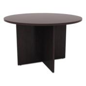 Alera VA7142ES Valencia Round Conference Table w/Legs, 29 1/2h x 42 Diameter, Espresso