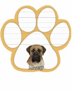 Mastiff Dog Paw Magnetic Note Pads