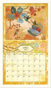 "Lang ""White Contemporary"" Calendar Frame"