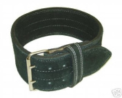 Ader Leather Power Lifting Weight Belt- 10cm Black