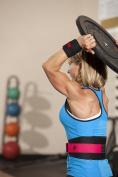Harbinger Women's Nylon Weightlifting Belt with Flexible Ultralight Foam Core, 13cm