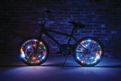 Wheel Brightz LED Bicycle Safety Light Lightweight Accessory