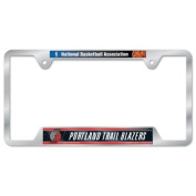Portland Trail Blazers Official NBA 30cm x 15cm Metal Licence Plate Frame by Wincraft