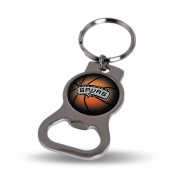 San Antonio Spurs Official NBA 7.6cm Bottle Opener Key Chain Keychain by Rico Industries