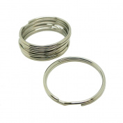 Scuba Choice Diving 51mm Stainless Steel 2.5mm Split Ring for BCD attachment 5 Piece Pack