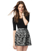Aeropostale Womens Elephant Skater Mini Skirt 001 L
