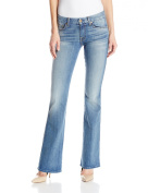 "7 For All Mankind Women's ""A"" Pocket Slim Illusion Jean in Dusty Vintage Blue, Dusty Vintage Blue, 26"