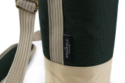 Greenfield Collection Solo Forest Green Wine Cooler Bag