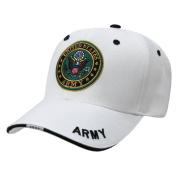 Rapiddominance Army Military Cap, White