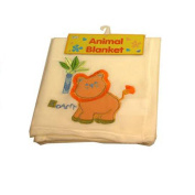 Baby's Lion Animal Fleece Blanket