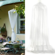 Mosquito Net Bed Canopy 12 Metre Full Coverage Protection for Holiday & Home - Non Skin Irritation