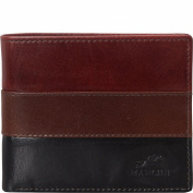 Mancini Leather Goods Mens RFID Left Wing Wallet - eBags Exclusive