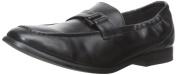 Venettini Boys Frank3e Designer Slip On Loafers With Buckle,Black.,35