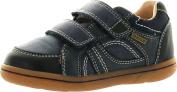 Geox Boys Flick B.K. Casual Everyday Fashion Velcro Shoes,Dark Navy,27