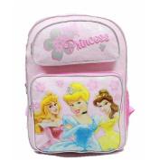 Backpack - Disney - Princess - Pink 3 (Light Pink) (Large School Bag) New 37696
