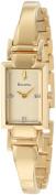 Bulova Women's 97P104 Goldtone Diamond-accented Watch