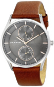 Skagen Men's SKW6086 Holst Stainless Steel Dark Brown Watch