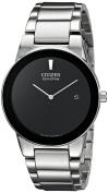 Citizen Men's Axiom Eco-Drive Stainless Steel Bracelet Watch 40mm AU1060-51E