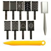Magnet Plate Wand Board Nail Art Tool for DIY Magic 3d Magnetic Polish Cats Eyes Choose 11pcs/set