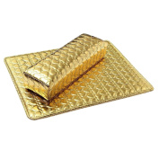 Sanwood Gold Tone Washable Nail Art Cushion Pillow Pad Hand Care Rest Manicure Tools