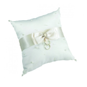 Lillian Rose-Ivory Scattered Pearl Pillow